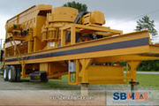 SBM - Мобильная дробилка для строительных отходов