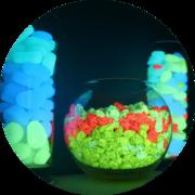 Светящийся декоративный камень AcmeLight PVC Stones